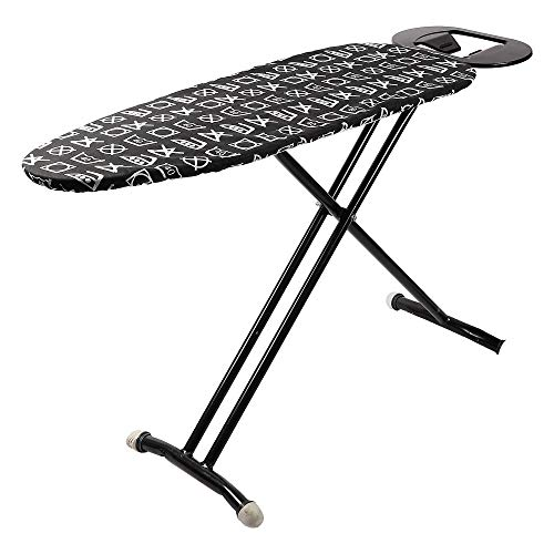 Peng Essentials Steel Folding and Height Adjustable Ironing Board with Iron Holding Tray