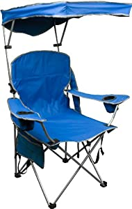 Quik Shade Adjustable Canopy Folding Camp Chair review