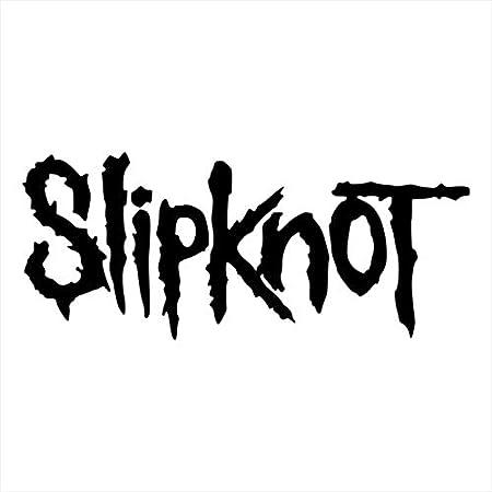 Yilooom Slipknot S 2 Pack Die Cut Vinyl Car Decal Sticker Bumper Window Sticker 2 Pack 6 Inches At Longest End Auto