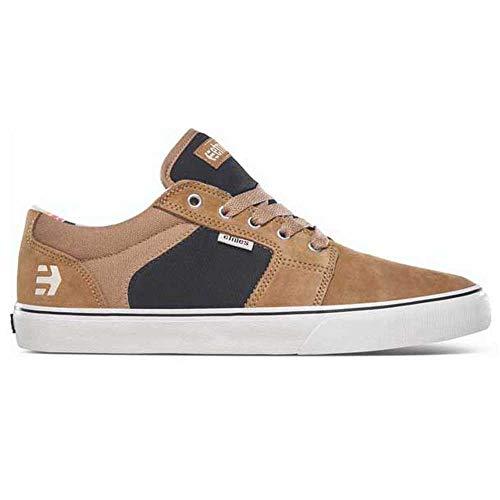 Etnies Barge LS, Zapatos de Skate para Hombre, Marrón Negro Bronceado, 42 2/3 EU