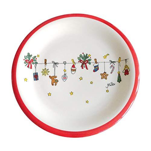 Mila Keramik-Teller, Motiv Es Weihnachtet sehr | MI-84163 | 4045303841635
