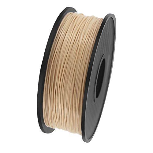 ZXC QualitäTs Pla Filament Feder 3D Filament Refills 1,75 mm Genauigkeit ± 0,02 100% Nein Blase 1 kg 2.2lb Kein Geruch Und Leicht Zu SchäLen Filament for Die Meisten 3D-Drucker(Color:Farbe)