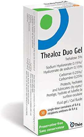 Thealoz Duo Gel Trehalose 3 Sodium Hyaluronate 0 15 0 4g x 30 vials by Thea product image