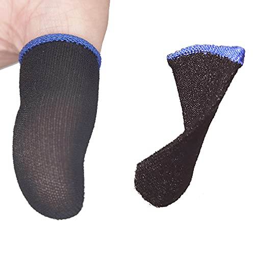 MOMOFLY 150 Sec Quick Dry Ultra-Thin Carbon Fiber Finger Sleeves [16...