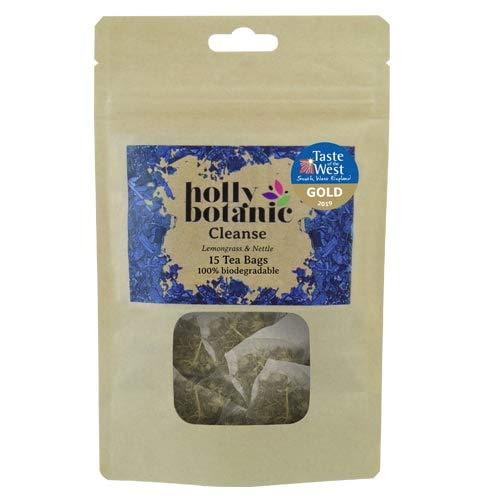 Cleanse (Tisane for Detox) Lemongrass & Nettle - by Holly Botanic (60 Tea Bags)