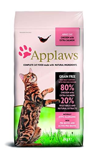 bester der welt Trockenes Katzenfutter mit Huhn und Lachs, 1 Schachtel (1 x 2 kg) 2021