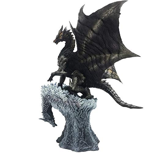 Monster Hunter World Generations Ultimate Dragon Model Collectible Monster Steel dragon Action Figure Toy per bambini Regalo di Natale, Acciaio