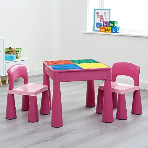 5in 1Activity Tisch & Stühle mit Schreiben Top/Lego/Sand/Wasser/Storage