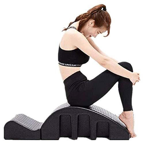 Hammer Corrección de Alivio del Dolor Yoga Pilates Spine Corrector Volver Mesa de masajes Equipo de la Aptitud Cervical cifosis Yoga Espuma Arco