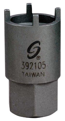 Sunex 392105 Antenna Nut Socket, Four-Prong
