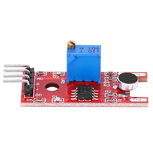 Módulo De Sensor De Sonido De 5 Piezas Módulo Amplificador De Sensor...