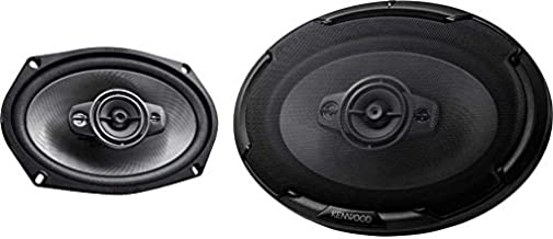 $51 » Kenwood KFC-D691 6 x 9 Inch 4 Way 600 Watt Peak Power Car Audio Speaker Set
