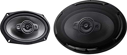 Kenwood KFC-D691 6 x 9 Inch 4 Way 600 Watt Peak Power Car Audio Speaker Set