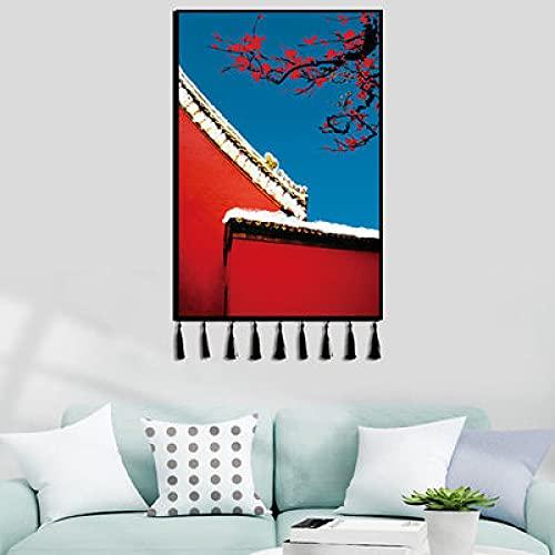 YYRAIN Estudio Bohemio Tela Colgante Dormitorio Fondo Tela Pasillo Pegatinas Imágenes Colgantes 80x120(Width x Length) D