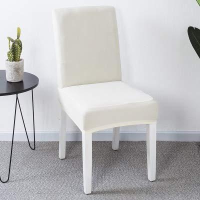 GIVO 1/2/4/6 Uds Funda de Silla de Color sólido Spandex Fundas elásticas Fundas de protección para sillas para Comedor Cocina Banquete de Boda