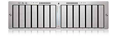 Apple Xserve RAID MA208, 3500GB unidad de disco multiple - Unidad de disco múltiple (3500GB, 10500 GB, 500 GB, 8 MB, 0, 1, 0+1, 3, 5, 10, 30, 50, 7200 RPM, 3500 GB)