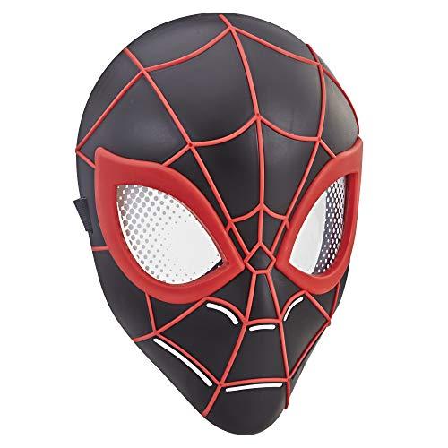 Marvel Spider-Man Máscara de Herói, Com Tira Ajustável - Miles Morales - E3662 - Hasbro