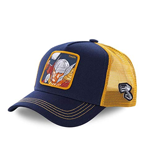 Capslab Trucker Cap Marvel Thor Blue & Yellow-Gorras