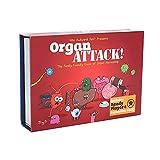 YQY Organ Attack, Juego de Cartas de Mesa de Ataque a órganos...