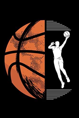 Basketball: Notizbuch a5 liniert mit 120 Seiten | Schönes Geschenk Basketball Sport Hobby Wettkampf Kindergeburtstag Muttertag Vatertag Notizblock Notizheft Journal