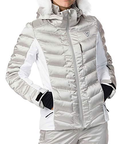 Rossignol W Rapide Silver Jkt Skijacke Damen S silberfarben