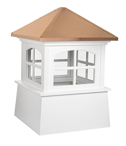 Good Directions Huntington Vinyl Cupola with Copper Roof 22