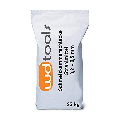 Asilikos Schmelzkammerschlacke Strahlmittel 0,2-0,5 mm 25 kg