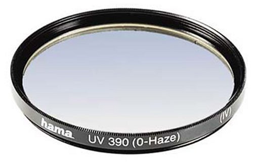 Hama UV- und Schutz-Filter, 8-fach Vergütung, Für 58 mm Foto-Kameraobjektive, HTMC, 390