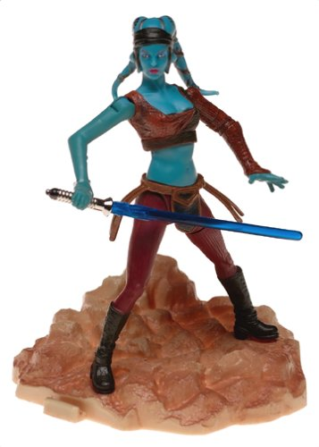 Star Wars AOTC Attack of The Clones Battle of Geonosis Aayla Secura Figure