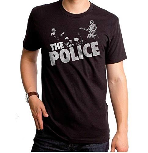 Authentieke The Police Rock Band Live Concert Zenyatta Trio T-Shirt Maat M-3XL