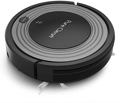 Automatic Programmable Robot Vacuum Cleaner - Robotic Auto Home Cleaning for Clean Carpet Hardwood...