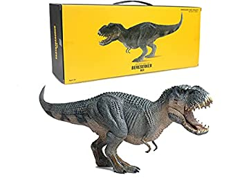 Gemini&Genius 15 inches Stand Up Tarbosaurus with Movable Jaw Vastatosaurus Rex Jurassic World Dinosaur Action Figures Toys The Ideal Choices for Christmas and New Year Gift for Kids  Gift Box V-Rex