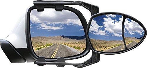 Brunner Espejo retrovisor para caravana Oros Ang con espejo de ángulo muerto integrado