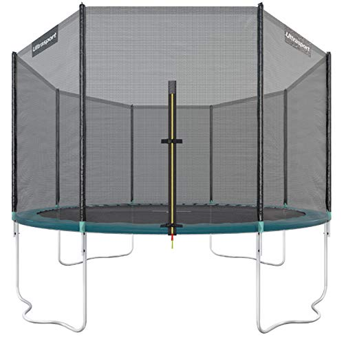Ultrasport Outdoor Gartentrampolin Jumper, Trampolin Komplettset inklusive Sprungmatte,...