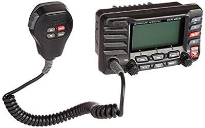 Standard Horizon Standard Explorer GPS VHF Marine Radio - Black by Standard Horizon