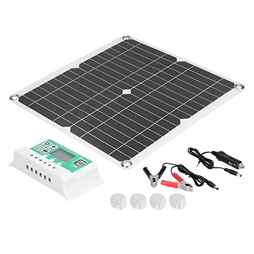 Panel solar monocristalino, módulo solar ampliamente aplicable para baterías de automóviles, automóviles, vehículos recreativos, barcos, aviones para plantar turismo, farolas solares