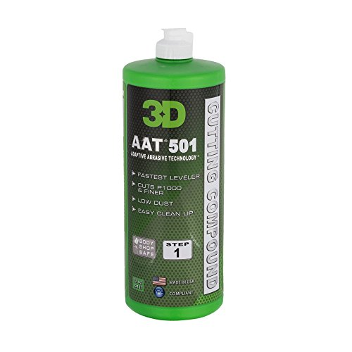 AAT cutting compound 1L - Pulimento de corte profesional, muy rápido y se puede utilizar desde lija P1000