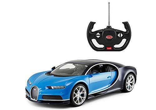 Bugatti Licensed RC 1:14 Chiron Remote Control Car Toy Blue