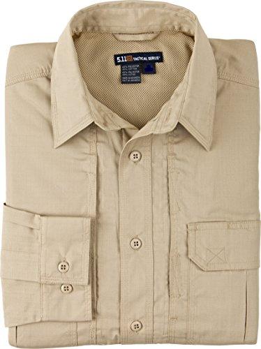 5.11 Tactical Series Women's Taclite Pro Shirt Long Sleeve Femme, TDU Khaki, FR : S (Taille Fabricant : S)