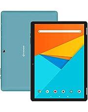 Tablet 10 Zoll Android 9.0 - HAOQIN H10 Pro 3G SIM-Tablet PC 2 GB RAM 32 GB ROM MT8321 Quad-Core-Prozessor 1280x800 IPS HD-Anzeige WiFi Bluetooth Google-Zertifikat(Blau)
