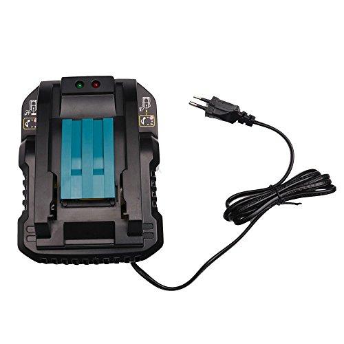 14.4V-18V Li-ion Caricabatterie per Makita DC18RC DC18RA BL1830 BL1430 BL1815,BL1820,BL1840,BL1850,BL1845,BL1860(Caricabatterie 4A)
