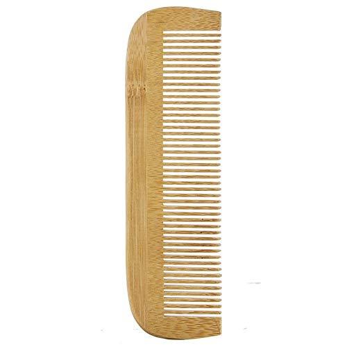 AVRIL - pettine in legno a denti stretti - districa i nodi senza strappare i capelli - 17 cm x 5 cm
