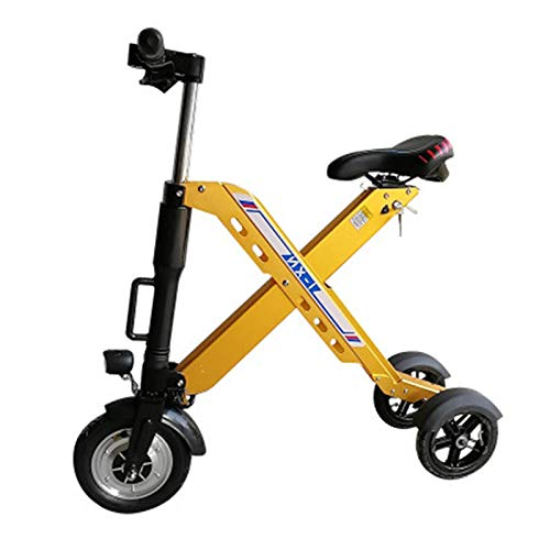 Zidao Plegable de Tres Ruedas e-Bike, Mini pequeña Bicicleta eléctrica para Hombres...