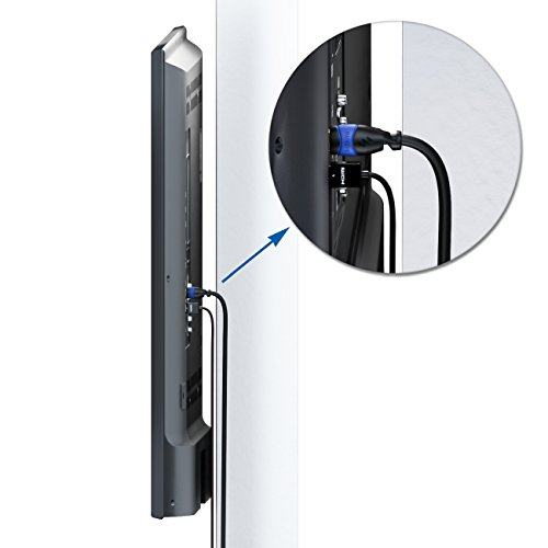 deleyCON 0,5m HDMI Kabel SLIM High Speed mit Ethernet (Neuster Standard) 3D 4K ULTRA HD SUPER flexibel
