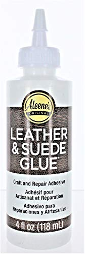 Aleene'S Premium Quality 15594 4 Oz Leather & Suede Glue