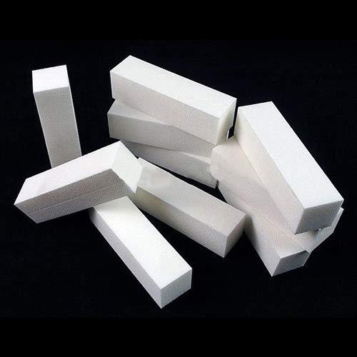 5 pcs Blanc Nail Art DIY Tampon fichier Bloc pédicure Manucure polissage ponçage Care Lyhhai