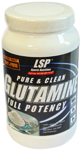 LSP L-Glutamine Powder, 1er Pack (1 x 1 kg)