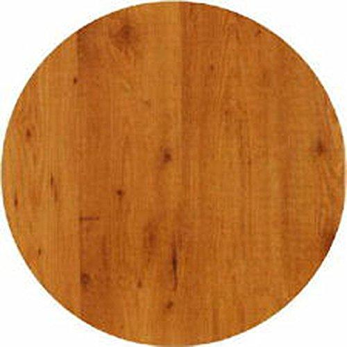 Werzalit / hochwertige Tischplatte/Pinie/runde Form 60 cm/Bistrotisch/Bistrotische/Gartentisch/Gastronomie