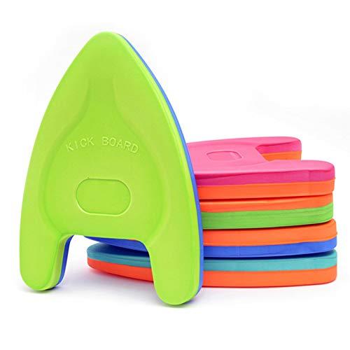 Schwimmbrett aus EVA-Schaumstoff, leicht zu greifen, ideal für Erwachsene, Kinder, zufällige Farbe
