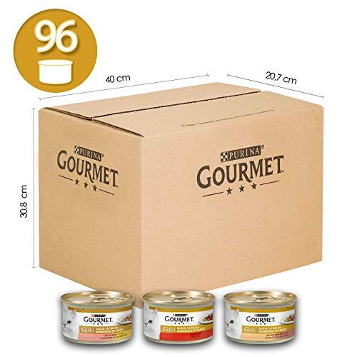 Purina Gourmet Gold Umido Gatto Casserole con Manzo e Pollo,...